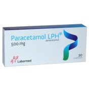 LABORMED PARACETAMOL 500MG X 20CPR
