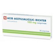 RICHTER ACID ACETILSALICILIC 100MG X 30CPR