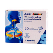 ACC JUNIOR 100MG X 20PLICURI