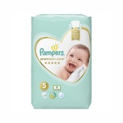 PAMPERS 5 PREMIUM CARE JUNIOR SCUTECE 17BUC