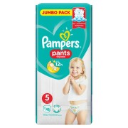 PAMPERS 5 PANTS ACTIVE BABY 12-18KG SCUTECE-CHILOTEL 48BUC