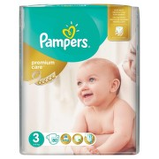 PAMPERS 3 PREMIUM CARE 4-9KG SCUTECE 80BUC