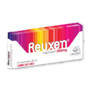 REUXEN 200MG X 10CPR