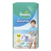 PAMPERS SPLASH 5 SLIP DE APA 14+KG 10BUC