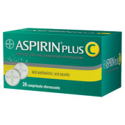 BAYER ASPIRIN PLUS C 20CPR EFERVESCENTE