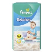 PAMPERS SPLASH 3 SLIP DE APA 6-11KG 12BUC