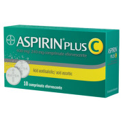 BAYER ASPIRIN PLUS C 10CPR EFERVESCENTE