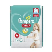 PAMPERS 6 PANTS ACTIVE BABY 16KG+ SCUTECE-CHILOTEL 19BUC