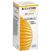 ACCUCHEK SOFTCLIX ACE 25BUC