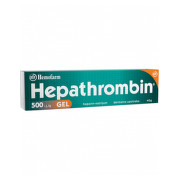 HEPATHROMBIN 500UI/G GEL 40G
