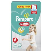 PAMPERS 6 PANTS ACTIVE BABY 16KG+ SCUTECE-CHILOTEL 44BUC