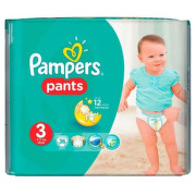 PAMPERS 3 PANTS ACTIVE BABY 6-11KG SCUTECE-CHILOTEL 26BUC